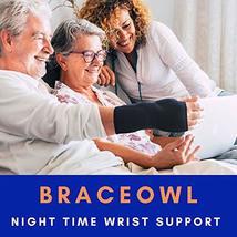 Carpal Tunnel Wrist Brace, Night Sleep Wrist Splint for Both Right Hand and Left image 6
