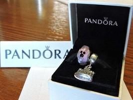 Pandora Disneyland ''Sleeping  Beauty's  Castle'' Charm /Mickey Icon Gla... - $220.00