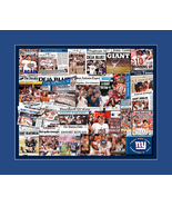 New York Giants 2012 Super Bowl Newspaper Collage Print Art- 25 Publicat... - $19.99