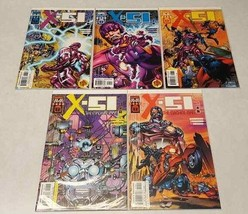 Comic Book Lot 5 Marvel X-51 The Machine Man 6 7 8 9 10 Nm Board Sleeve - $7.67