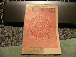 3# Vintage The Workbasket Knit/Crochet and Craft Magazine June, 1961 - $5.93