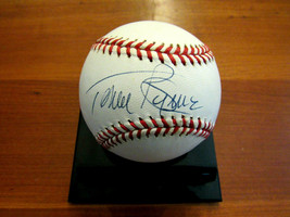 TOMMY BYRNE 2 X WSC NY YANKEES PITCHER SIGNED AUTO VINTAGE OAL BASEBALL ... - $69.29