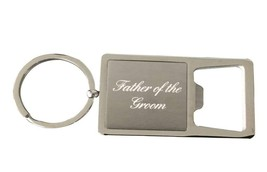 Father of the Groom Gift, Grooms Father Keychain, Grooms Father Gift, Bo... - $10.00