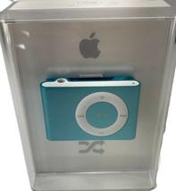 Apple iPod Shuffle 1GB Metallic Light Blue Digital Music Player Model A1... - $98.99
