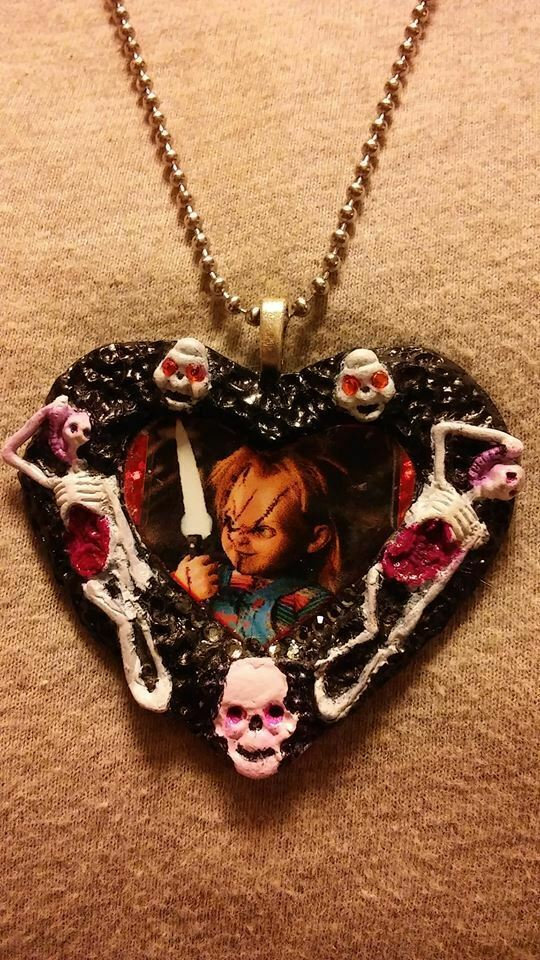 Chucky Childs Play Necklace Horror Collectible Novelty Jewelry