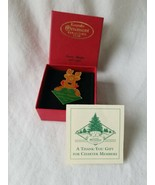 Hallmark 1996 Collectors Club 10 Years Together Charter Member Pin - $21.78