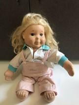 """Kid Sister by PlaySkool 21.5"""" doll in original outfit  1986 - $36.95"""