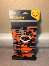EVOSLEEVE--SIZE L / XL --ORANGE CAMO--EVOSHIELD--MSRP $13--FREE SHIP--NEW - $10.00
