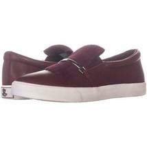 Lauren Ralph Reanna ohne Bügel Troddel Sneakers 994, Rot, 5.5 US / 36.5 Eu - $74.39