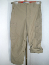 Kids GAP Adjustable Length Teflon Polyester Air Service Type Detail Pants Sz XL image 1