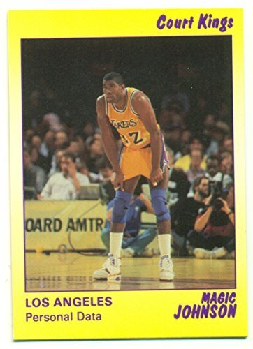 1990 Magic Johnson Court Kings 9 Card Set - Los Angeles Lakers - Set 1645 of onl