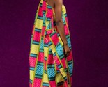Alon kente african prints bubu dress (ESSINGAN)