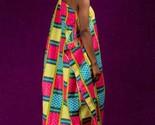 Alon kente african prints bubu dress (ESSINGAN)