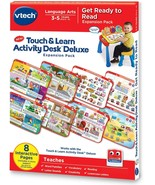 VTech Touch and Learn Activity Desk Deluxe Expansion Pack - Get Ready to... - $8.99