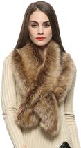 Dikoaina Extra Large Women'S Faux Fur Collar For Winter Coat - $20.99