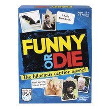Hasbro ~ Funny or Die Game ~ Hilarious Caption Game ~ NEW - $4.80