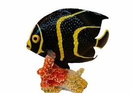 Goebel Hummel Figurine Angel Fish 36802 tropical marine sculpture German... - $145.08