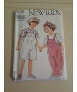 New Look Kids Pattern 6 - 12 Seven Sizes  New UN Cut T-Shirt Dungarees - $7.91