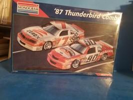 1/24 scale: Monogram: 1987 Thunderbird Combo, kit# 6392 NEW SEALED  - $37.39