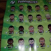 2018 INTERNATIONAL SOCCER TEENYMATES SERIES 1 - PICK YOUR SOCCER TEAM FIGURE  image 2