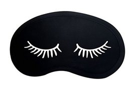 Cotton Breathable Light Shade Eye Masks Cartoon Eyelash Style Eye Relaxing Cover - $13.71