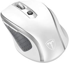 VicTsing Wireless Mouse, 2.4G 2400DPI w/USB Receiver, 5 Adjustable DPI Levels