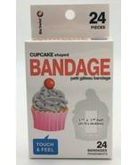 Bio Swiss Kids Cupcake Adhesive Bandages Box of 24 Sterile - $4.95