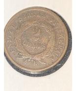 1865 2 Cent Piece  - $25.00