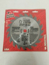 "Vermont American  7 1/4"" Carbide Saw Blade 20 Tooth P/N 27170 - $10.45"
