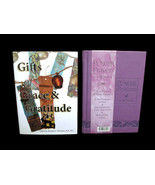 Set of 2 Books Power Prayers for Women and Gifts of Grace and Gratitude - $9.90