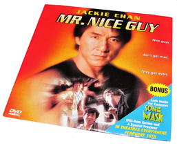 An item in the DVDs & Movies category: MR. NICE GUY DVD Movie Jackie Chan Movie Papa John's Pizza Promo