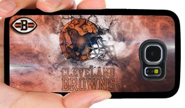 Cleveland Browns Nfl Phone Case For Samsung Note Galaxy S4 S5 S6 S7 Edge S8 S9 - $11.99