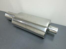 "Pilot Automotive PM-522 Stainless Steel Muffler & Tip, 4"" Outlet, New Op... - $197.99"