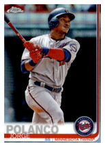2019 Topps Chrome Refractor #81 Jorge Polanco Twins - $1.10