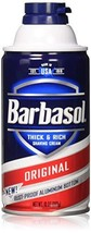 Barbasol Shave Regular Size 10z Barbasol Shave Cream Regular 10oz pack of 2 image 1