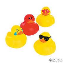 Emoticon Mini Rubber Duckies - $15.49