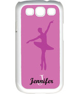 Personalized Purple Ballet Point Feet Position Samsung Galaxy S3 Case Cover - $15.95