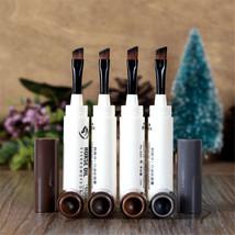 Waterproof Eyebrow Dye Cream Eye Enhancer Pomade Makeup Pencil Pen W/ Br... - $2.98