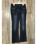 Squeeze Jeans Girls Size 14 Jeans Denim Blue Msre 27x26 - $16.82