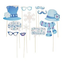 Winter Sparkle Handheld Costume Props (12 Pack) - $15.19