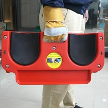 Rolling Knee Protection Pad With Wheels Built In Foam Padded Kneeling To... - $198.99