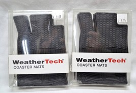 WEATHER TECH Coaster Mats Set of 2 New in Packa... - $20.56