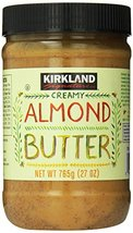 Kirkland Signature Creamy Almond Butter, 27 Ounce - $21.49