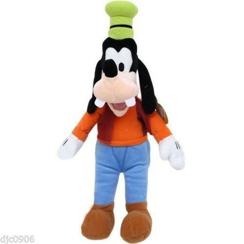 Primary image for Disney Small Mickey Mouse Goofy Plush Cuddle Pillow Doll Toy-Licensed-New w/ Tag