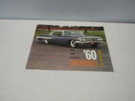 1960 Chevrolet Brochure Space Spirit Splendor full size  - $16.07