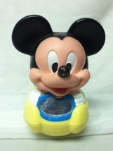 Disney, Mickey Mouse, 7in x 5in Roly-Poly Baby or Infant Toy - $4.70