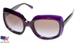 New Coach HC8194 L1616 524968 Deep Purple /BROWN Lens Sunglasses 54-21-140 B47mm - $82.15