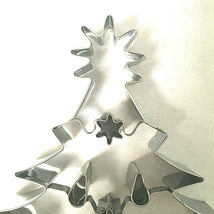 Christmas Tree Cookie Cutter Williams Sonoma Large Alunimum 8 Inches image 6