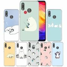 Case Xiaomi Redmi Note 7 7A 7S 6A 5 Y3 Mi 8 9T A2 A3 Lite Pro Plus Pengu... - $9.51