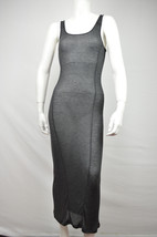 2200-2 FREE PEOPLE INTIMATELY NWT WOMENS CHARCOAL SHEATH DRESS S SMALL $58 - $13.88